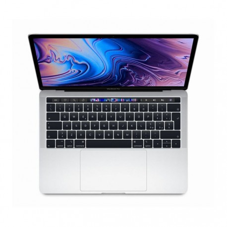 MACBOOK PRO 13 - SILVER - TOUCH BAR - I5 QUAD-CORE 1,4GHZ - RAM 8GB - SSD 128GB -